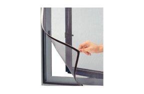 MOSQUITO NET FOR WINDOW BLACK 130x150cm